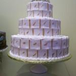 Tiara cakaes blanco y rosa 9