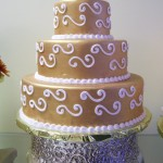 Tiara cakes dorado 6